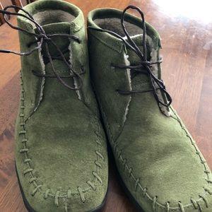 Ladies green Merrells